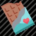 chocolate, dessert, gift, present, sweet, valentine