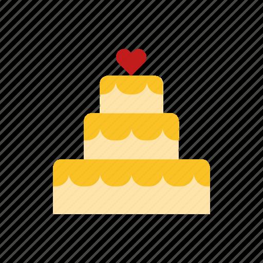 Cake, wedding icon - Download on Iconfinder on Iconfinder
