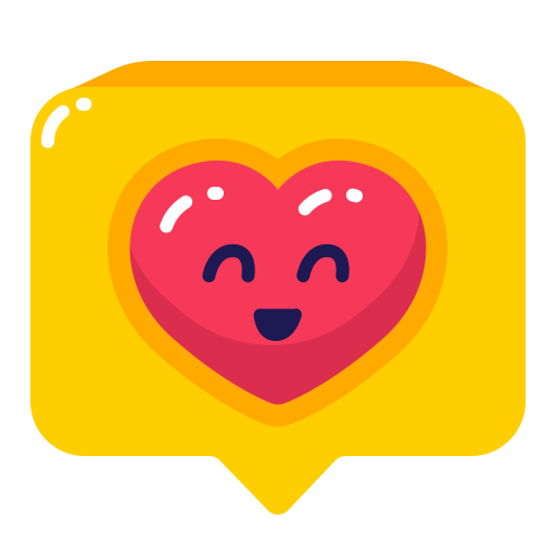 chat, heart, like icon