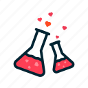 day, formula, heart, love, red, valentine icon