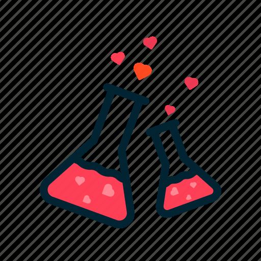 day, formula, heart, love, red, valentine icon