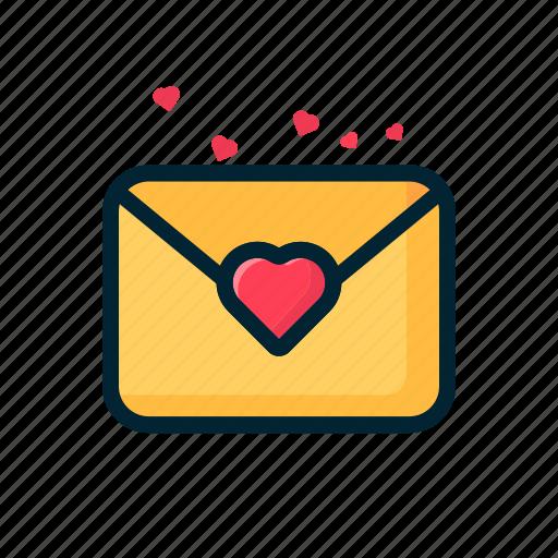 Card, gift, letter, love, message, valentine icon - Download on Iconfinder