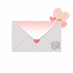 envelope, letter, love, message, romantic, sdesign, valentines icon