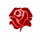flower, love, red, romantic, rose, sdesign, valentines icon