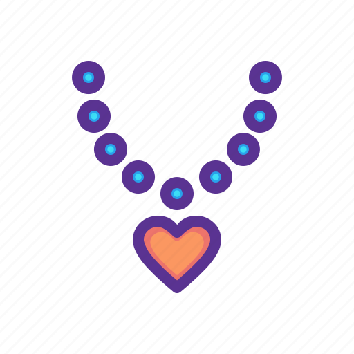 diamond, gift, heart, love, necklace, pendant, ring icon