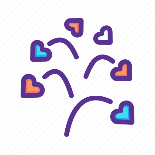 blossom, day, heart, love, romance, tree, valentines icon