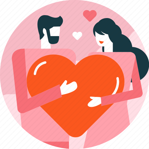 Couple, heart, love, man, relationship, valentine, woman icon - Download on Iconfinder