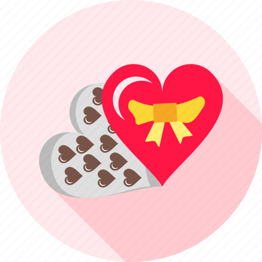 chocolate, chocolates, gift, love, present, romance, sweets icon