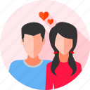 couple, wedding, relationship, girlfriend, gf, bf, boyfriend icon