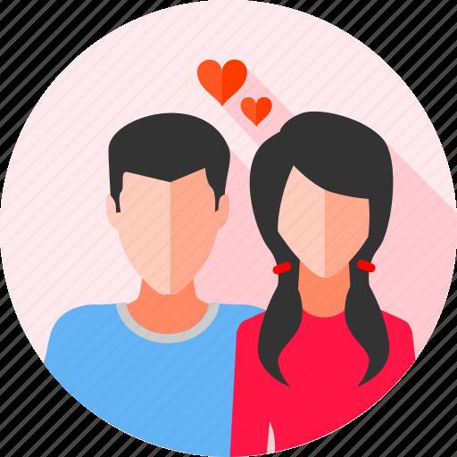 bf, boyfriend, couple, gf, girlfriend, relationship, wedding icon