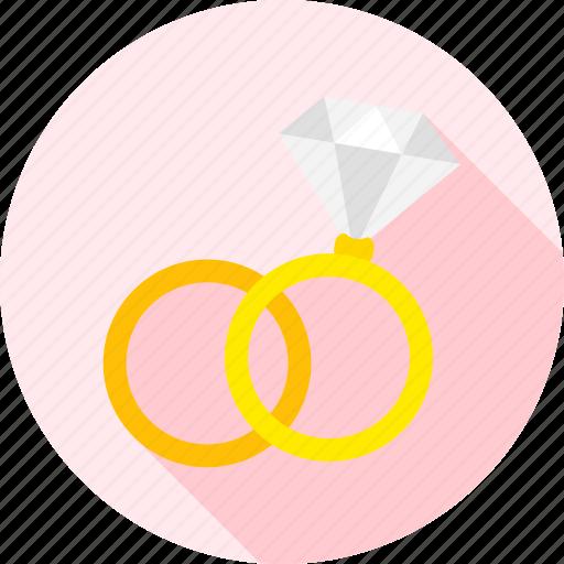 diamond, engagement, jewel, jewellery, love, ring, wedding icon