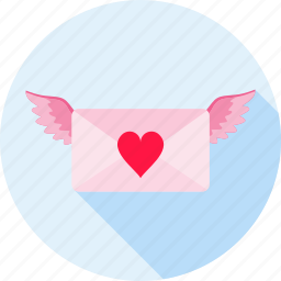 gift, heart, love, love letter, romance, romantic, valentine icon