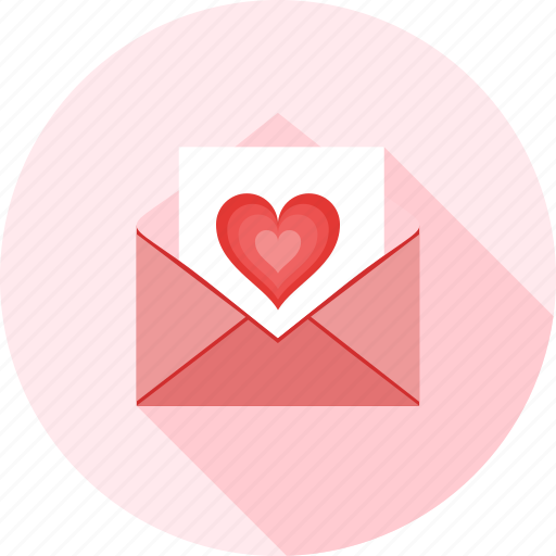 email, envelope, greeting, letter, love, love mail, messages icon
