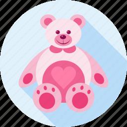 bear, gift, hug, love, teddy, teddy bear, toy icon