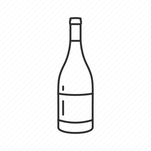 bottle, champagne, champagne bottle, drink, red wine, wine, wine bottle icon