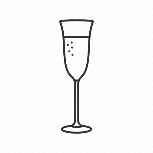 brandy, champagne, champagne glass, drink, glass, wine, wine glass icon