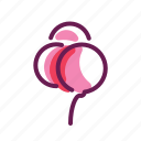 cream, ice, romance, valentine icon