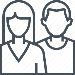 couple, love, together, valentines day icon