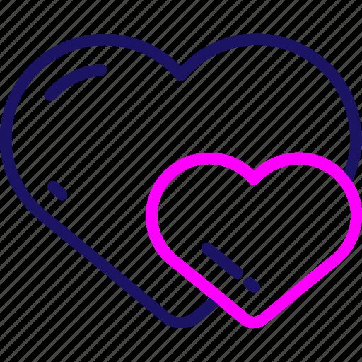 Valentine, heart, love, romance, valentines, wedding icon - Download on Iconfinder