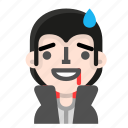 avatar, dracula, emoji, halloween, horror, sorry, vampire icon
