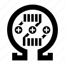 atomizer, coil, ecig, ecigarette, ohm, rda, rebuildable, smoke, tank, vape, vaping icon