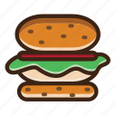 popcorn, noodle, egg, burger, potatos, pizza, tea, drink, beer, alcohol, hamburger, vegetable, cup, gastronomy, coffee, restaurant, cook, glass, food, meal, zoom, hot, healthy, sweet, magnifying, apple, cake, cooking, dessert, fruit, kitchen icon