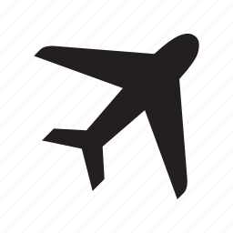 aircraft, airplane, aviation, flight, jet, plane, travel icon