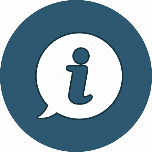circle, help, i, info, information, question, support icon