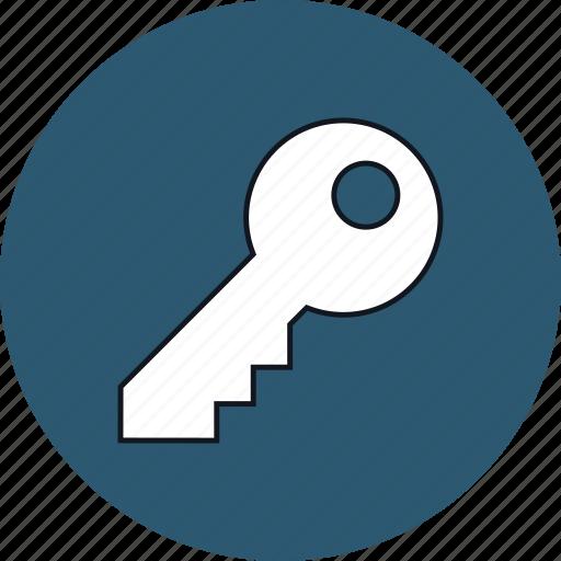 door, key, lock, open, security, web icon