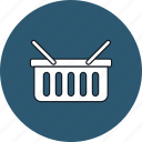 basket, commerce, market, shop, shopping, shopping basket, store icon