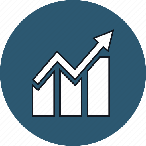 bar, business, chart, graph, graphic, growth, web icon