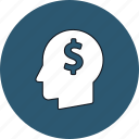 creativity, dollar, idea, money icon