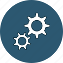 cog, cogwheel, gear, gearwheel, settings, web icon