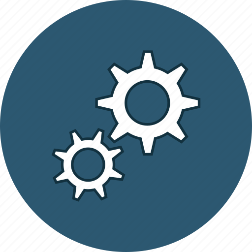 cog, cogwheel, gear, settings icon