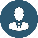 admin, business, businessman, executive, man, man suit, suit icon