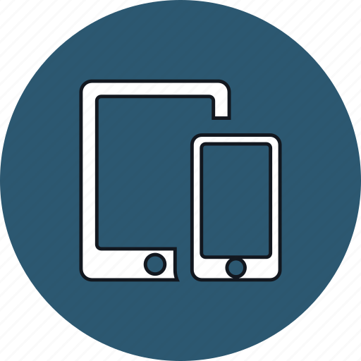 device, mobile, phone, responsive, smartphone, tablet, technology icon