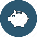 bank, deposit, finance, investment, money, piggy, savings icon