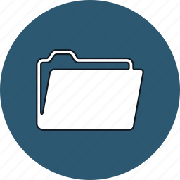 archive, folder, office, office folder icon