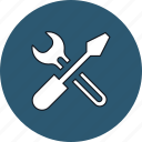 configuration, mechanic, preferences, settings, support, tools, wrench icon