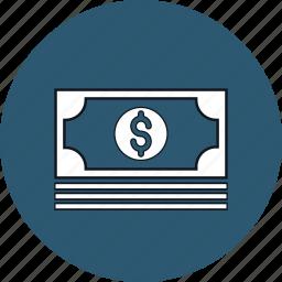 cash, money, profit, revenue icon