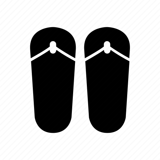 avatar, female, footwear, shoes, slippers, woman icon