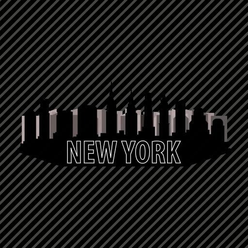 architecture, building, city, construction, new, skyline, york icon