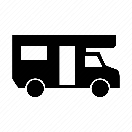 camper, car, transport, transportation, travel, vehicle icon