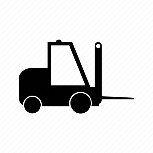 car, forklift, transport, transportation, travel, vehicle icon