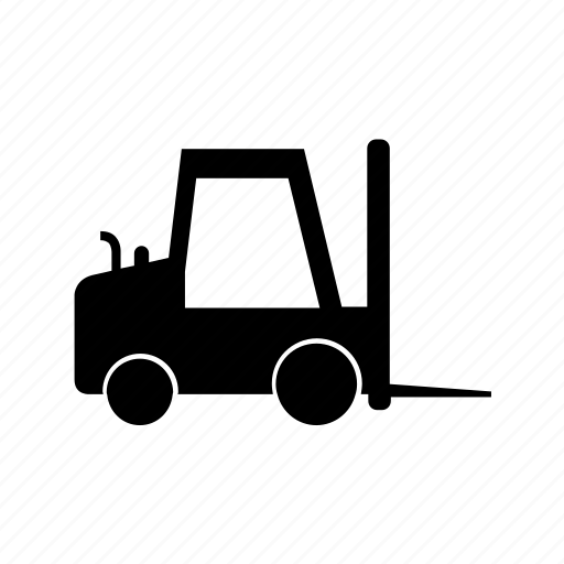 car, forklift, transport, transportation, travel, vehicle icon
