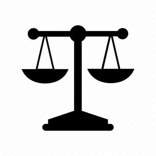 fitness, judge, justice, law, scale, weight icon