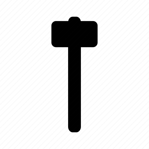 abstract, creative, design, hammer, tool icon