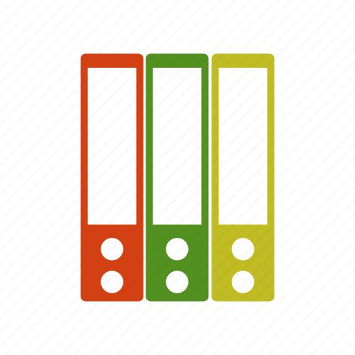 binder, document, extension, file, paper icon