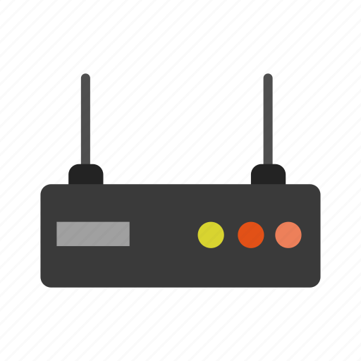 business, finance, internet, online, router, web icon