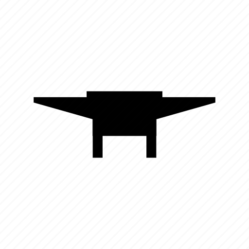 anvil, building, construction, house, metal, tool icon